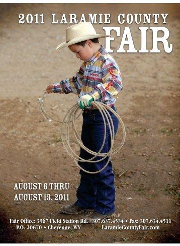 The Complete Fair Book 2011 - Laramie County Fair