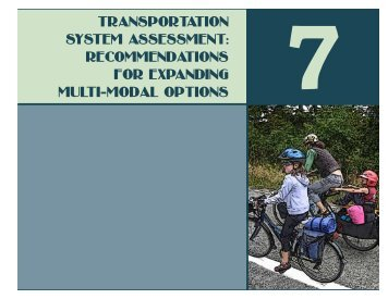 TransporTaTion sysTem assessmenT ... - San Juan County