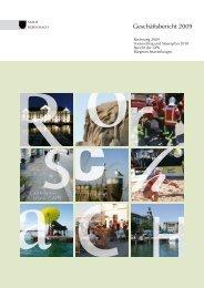 Geschäftsbericht 2009 - Stadt Rorschach