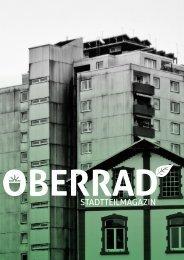 PDF Oberrad Magazin - Stadtteilbotschafter