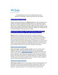 Please click here to read CSols April 2012
