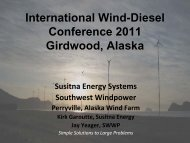Kirk Garoutte, Susitna Energy & Jay - University of Alaska Fairbanks