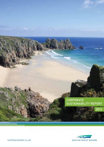 Download Report PDF - Corporate Sustainability Report 2012