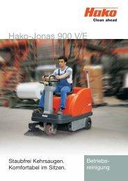 Hako-Jonas 900 V/E - Stangl Reinigungstechnik GmbH