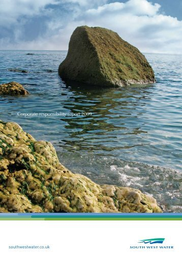 Corporate responsibility report 2009 - South West Water