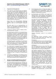 für Werk - SPIRIT/21 IT Services & Solutions GmbH