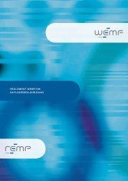 Reglement WemF/SW- AuFlAgebeglAubigung - WEMF AG für ...