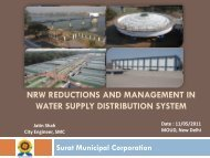 nrw reductions and management in - Ministry of Urban Development