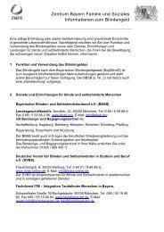 Informationen zum Blindengeld - Zentrum Bayern Familie und ...