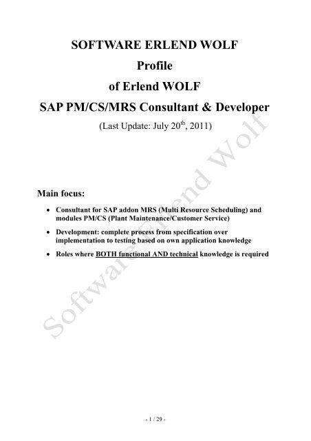 Mag Erlend Wolf Lebenslauf Profil Sww At
