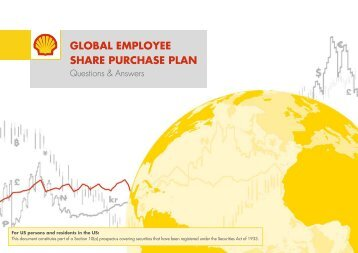 GLOBAL EMPLOYEE SHARE PURCHASE PLAN - Shell Share Plans