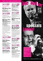specials januar - Jazzkeller