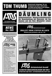 Zeitung 2009 - AMS Getränketechnik GmbH