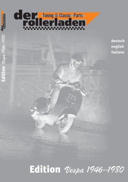 Der Rollerladen Katalog Tuning Classic Parts Aonsc
