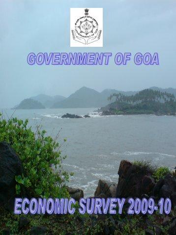 Economic Survey 2009-10 - Directorate of Planning, Statistics ...