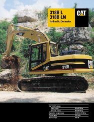 318B L 318B LN Hydraulic Excavator