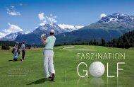 Golf ist ein Sport für jede Generation. Er fordert ... - St. Moritz Deluxe