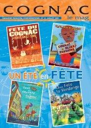 Cognac le mag juillet 2005 - Ville de Cognac