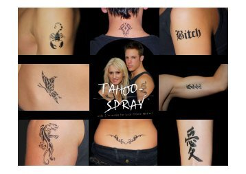 Tattoo-Spray