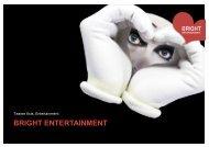 Folie 1 - Bright Entertainment AG