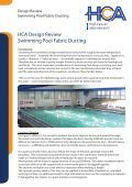 Swimming Pool - Fabric duct - Page 2