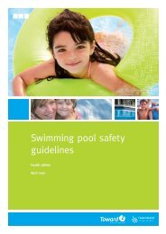 Pool safety guidelines - Fourth edition - Pool Safety Certificate