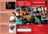 January 2012 gig guide - Brisbane Jazz Club