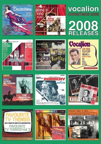 to download the catalogue - Dutton Vocalion