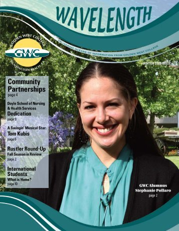 Community Partnerships - Golden West College