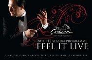 CPO Season Brochure 2011/2012 - The Calgary Philharmonic ...
