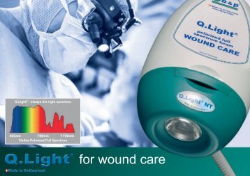 for wound care