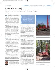 A New Kind of Swing - National Ground Water Association