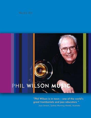 phil Wilson MUSIC