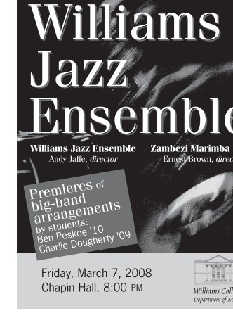 3-7-08 Jazz Program