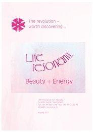 Beauty + Energy - Fleckenstein IBD international