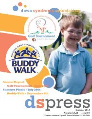 Summer Picnic - July 29th Golf Tournament - June 25th Buddy Walk ...