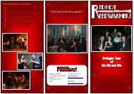 Brochure Red Hot Reedwarmers