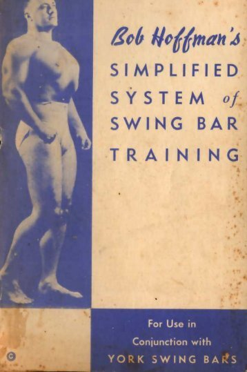 SIMPLIFIED SWING BAR - Eugen Sandow & The Golden Age of Iron ...