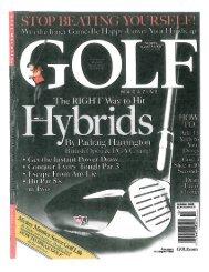 Hybrids Made Easy by Golf Magazine - Motion Golf