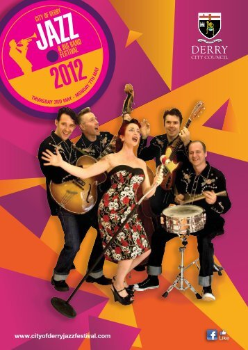 Download Programme - City of Derry Jazz and Big Band Festival