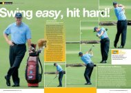 Timeless power & efficiency with Ernie Els