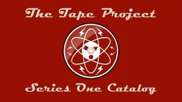 Brochure - the Tape Project