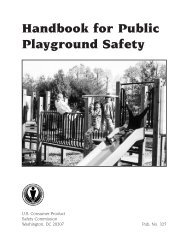 Handbook for Public Playground Safety - Society of Outdoor ...