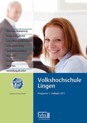 einfach - Volkshochschule Lingen