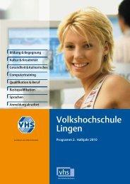 Ute Bischoff - Volkshochschule Lingen