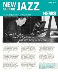 Sound Advice: - The New School