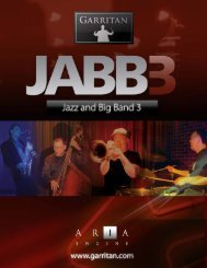 Use of the Garritan Jazz & Big Band