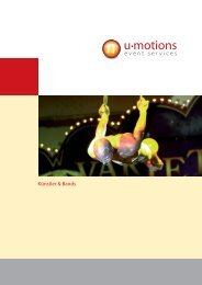 Künstler & Bands - u-motions GmbH