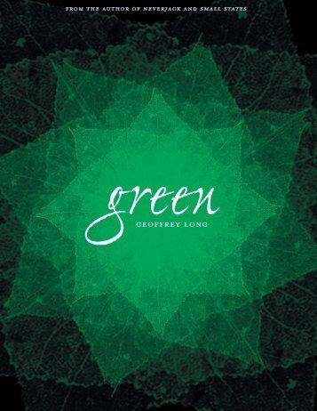 greenGEOFFREY - Geoffrey Long