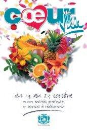 Téléchargez la brochure de Coeur de ville 2005 - Ville de Nouméa